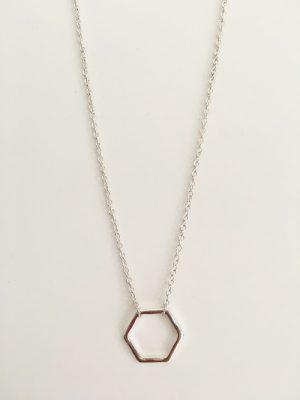 hexagone-argent